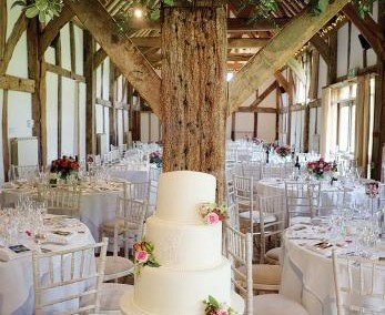 Tithe Barn, a beautiful venue for weddings at Loseley Park