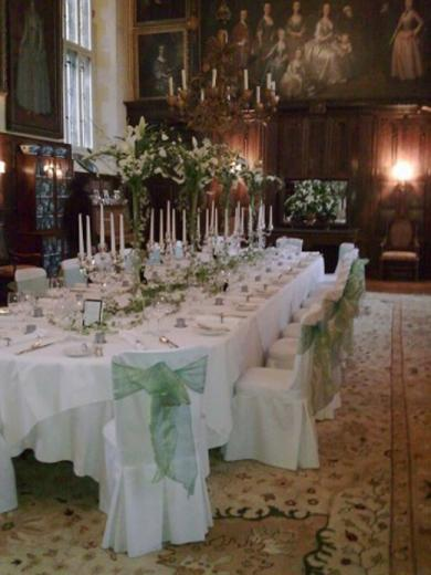 Wedding Event in the Great Hall - Loseley Park