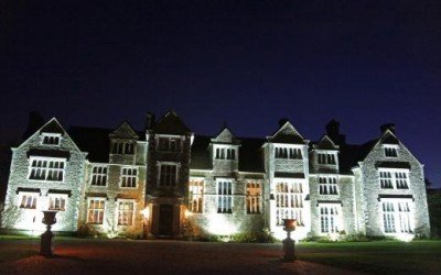 Loseley House by night