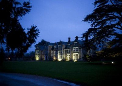 Dusk at Loseley House