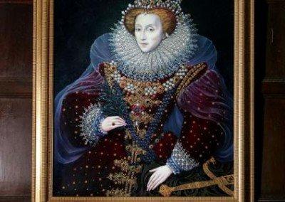Contemporary Commissoned portrait of Elizabeth I - Loseley House