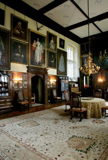 The Great Hall South Wall - Loseley House - Surrey