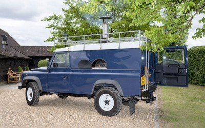 The Loseley Park Pizza Landrover