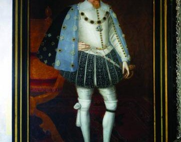 John de Critz Portrait of King James - Loseley House