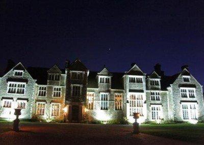 External Night Shot of Loseley Park